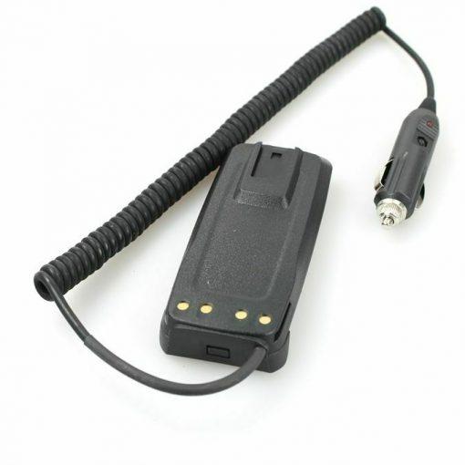 Akku Eliminator - 12V KFZ-Ladegerät für Motorola DP3400 DP3600