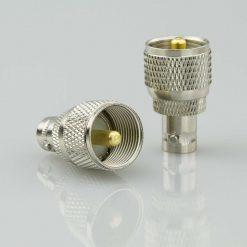 Antennenadapter Steckverbinder BNC-Adapter - BNC-Buchse / PL-Stecker UHF