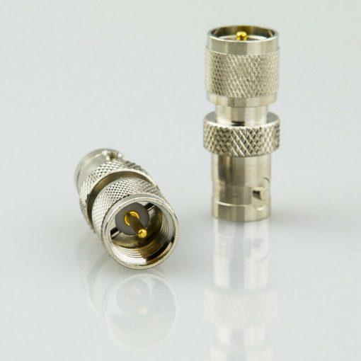 Antennenadapter Steckverbinder BNC-Adapter - BNC-Female auf Mini UHF-Stecker