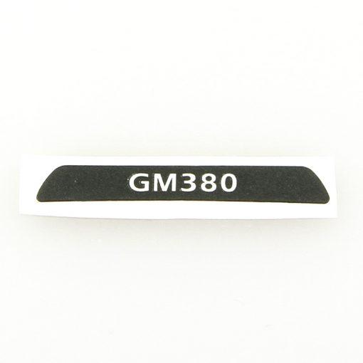 Motorola Typ-Label GM380 Part.Nr. 5464311B08