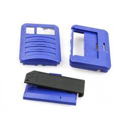 Swissphone Quattro Ersatz-Gehäuse – blau
