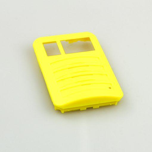 Swissphone Quattro Ersatz-Gehäuse – gelb - front