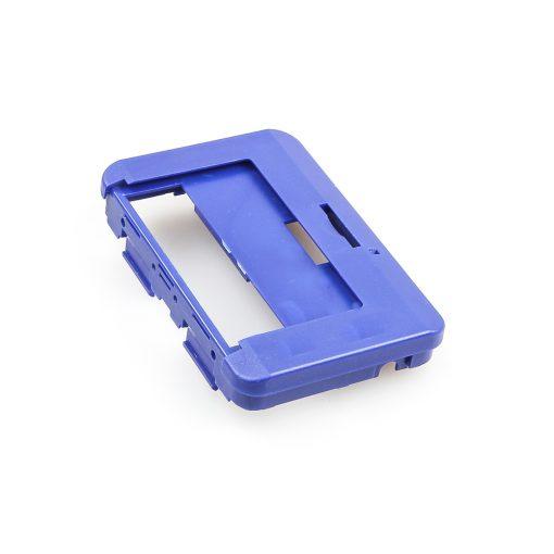 Swissphone Quattro Ersatz-Gehäuse – blau - Rückseite