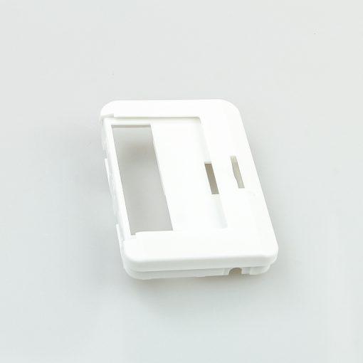 Swissphone Quattro Ersatz-Gehäuse – Weiß - Rückseite