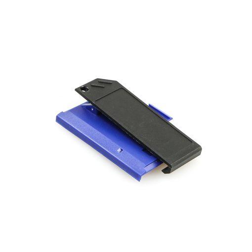 Swissphone Quattro Ersatz-Gehäuse – blau - Akkudeckel mit Clip