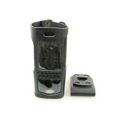 Motorola PMLN4474 Hart-Ledertasche Gürtelschlaufe MTP700