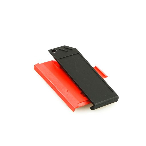 Swissphone Quattro Ersatz-Gehäuse – rot - Akkudeckel mit Clip.jpg