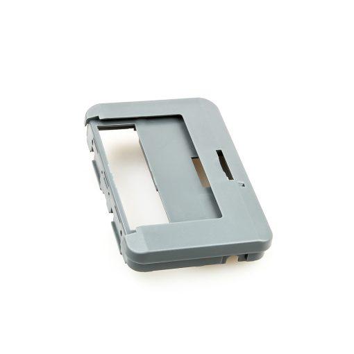 Swissphone Quattro Ersatz-Gehäuse - Grau - Rückseite