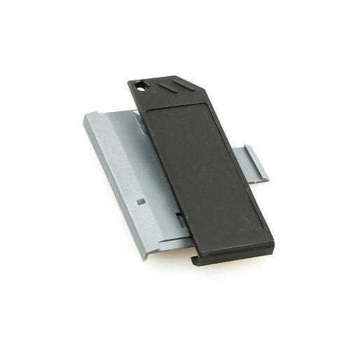 Swissphone Quattro Ersatz-Gehäuse - Grau - Akkudeckel mit Clip