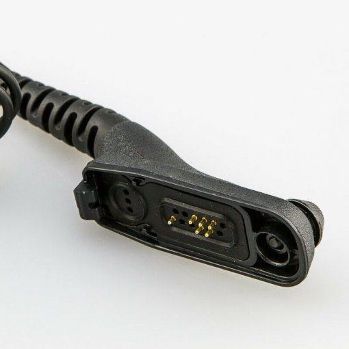 Headset mit Schallschlauch für Motorola DP3400 DP4400 MTP850s MTP6000