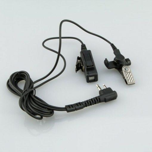 Headset mit Schallschlauch für Motorola CP040, DP1400