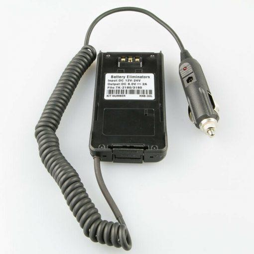 Akku Eliminator – 12V KFZ-Ladegerät für Kenwood NX-210 TK-2180 TK-3180