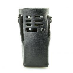 Motorola ATEX GMLN1111B Ledertasche mit drehbarer Gürtelschlaufe GP340 GP640