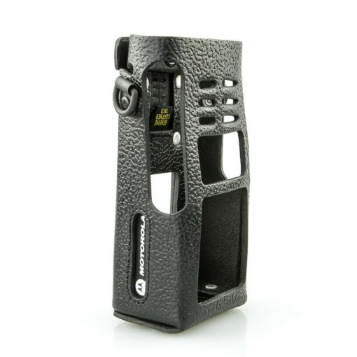 Motorola ATEX GMLN1110B Ledertasche mit drehbarer Gürtelschlaufe GP380 GP680
