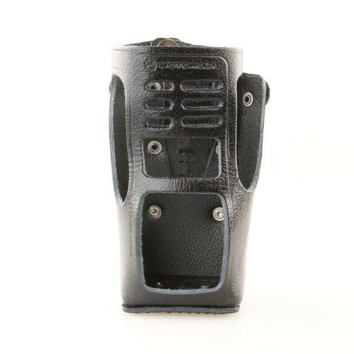 Motorola HLN9689A Ledertasche mit fester Gürtelschlaufe GP360 GP380 GP680