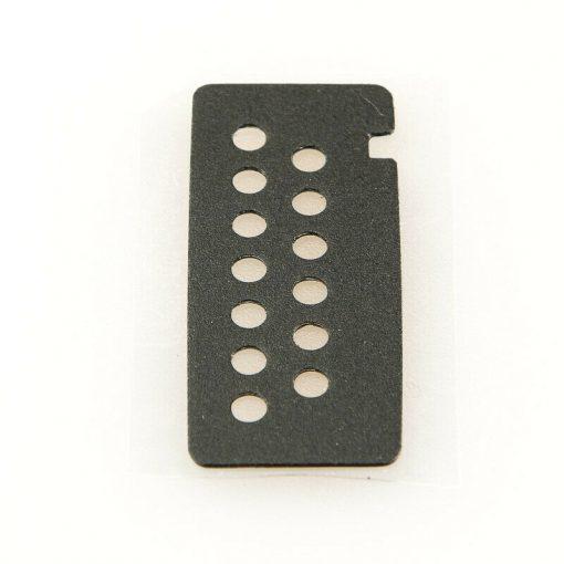 Motorola Escutcheon universal flex Label Part-Nr.: 1386058A01